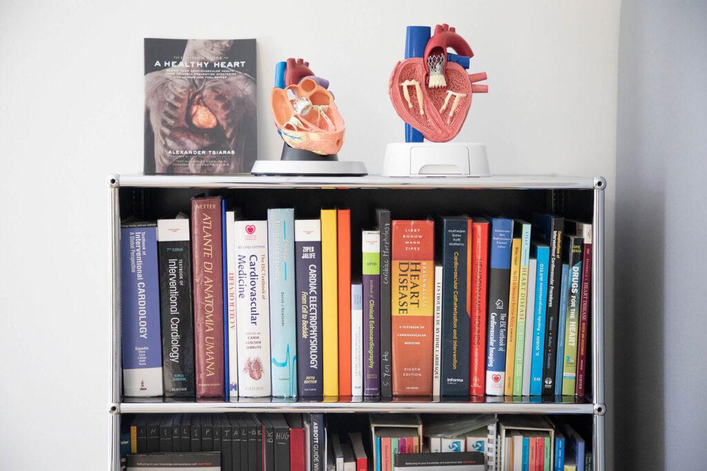 Bibliothèque du cabinet du Dr. Fabio Rigamonti